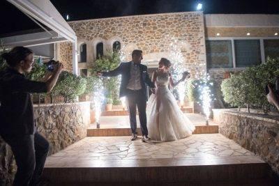 Σιντριβάνια εισόδου για γάμο